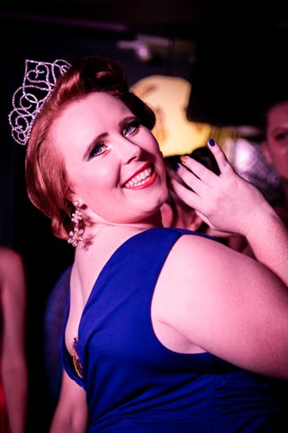 Darwin Divine Dancers Headmistress Millie Devine wins Burlesque Idol Darwin