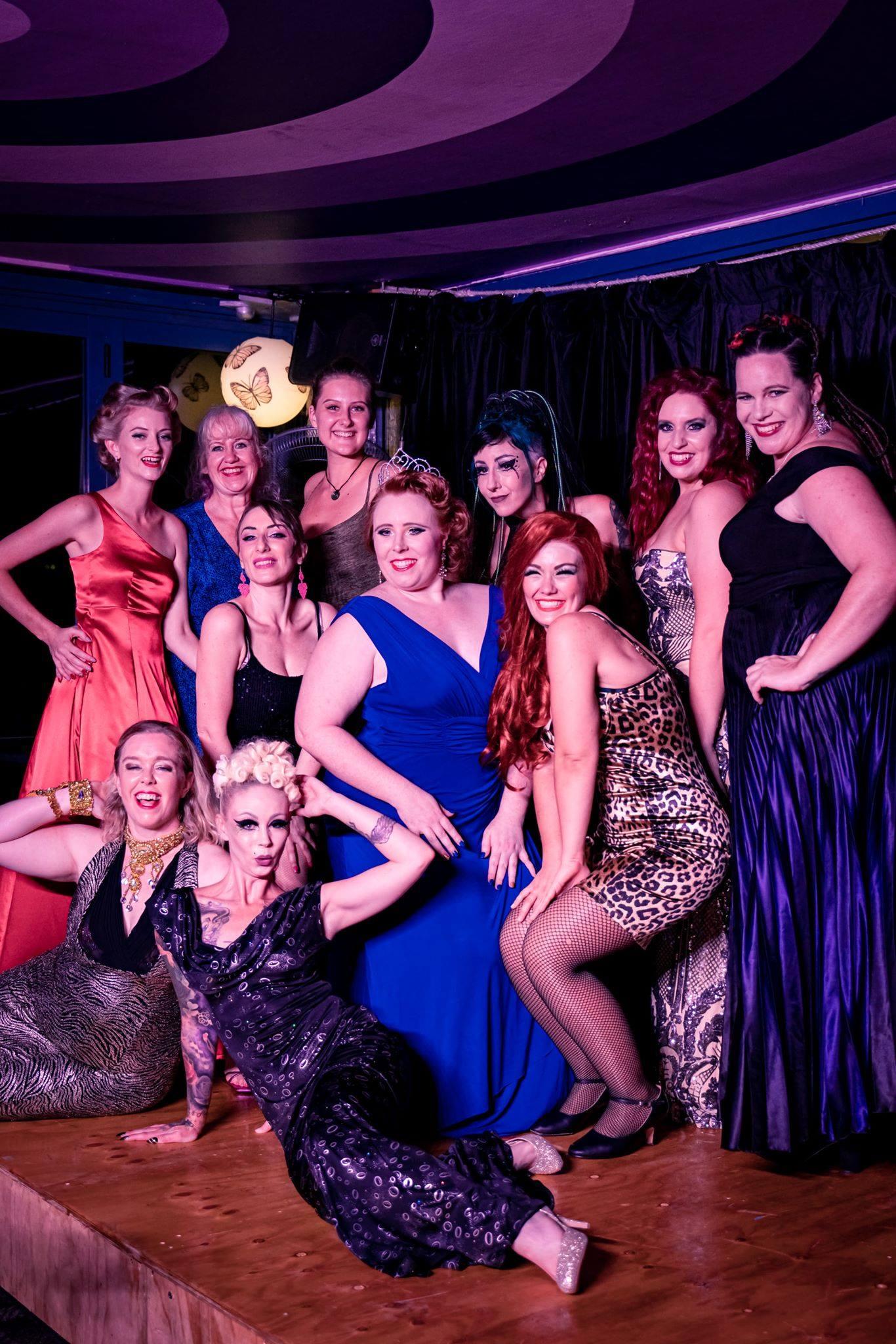 The Burlesque Idol Darwin competitors