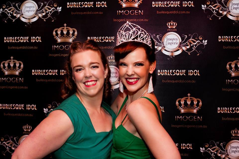 Mae de la Rue and Burlesque Idol Australia