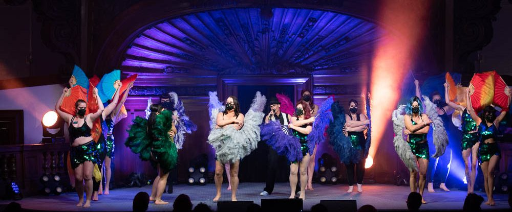 Fabulous Fan Society performs at Decadence and Debauchery