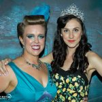 Mae de la Rue and Hannie Reagan at Burlesque Idol Sydney 2016