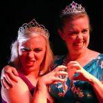 Rebelle Velveteen and Mae de la Rue at Burlesque Idol Sydney 2015