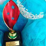 Trophy and tiara